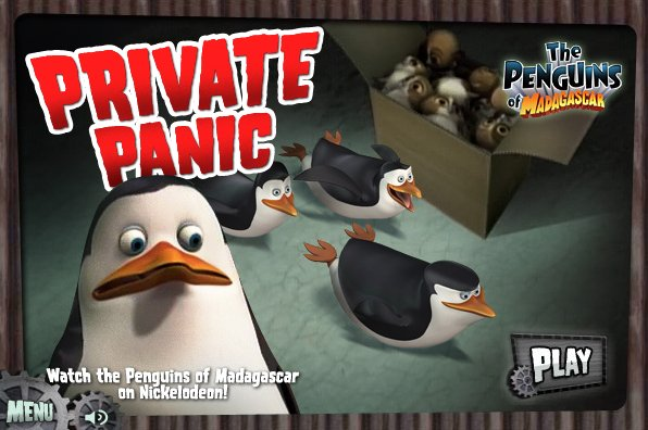 Private Panic Game